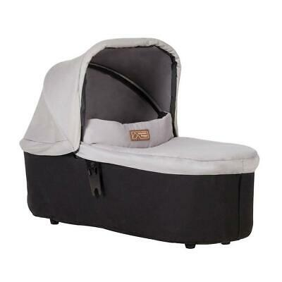 Mountain Buggy Duet v3.2 Carrycot Plus - 2018+ (Silver) - Suitable From Birth