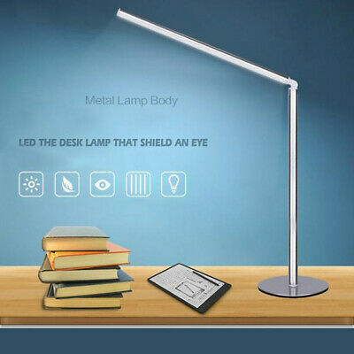 Foldable LED Metal Dimmable Desk Lamp Table Lamp Reading Light Eye Protection US
