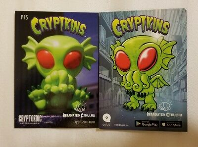 2018 Sdcc Comic Con Exclusive Cryptozoic Cryptkins Promo Card # P15