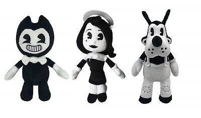 "New Official 12"" Bendy And The Ink Machine Soft Plush Toys Bendy Alice Boris"