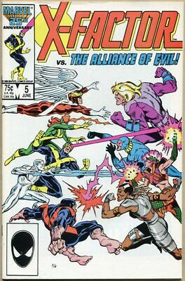 X-Factor #5 - VF+ - 1st Cameo Appearance Of Apocalypse