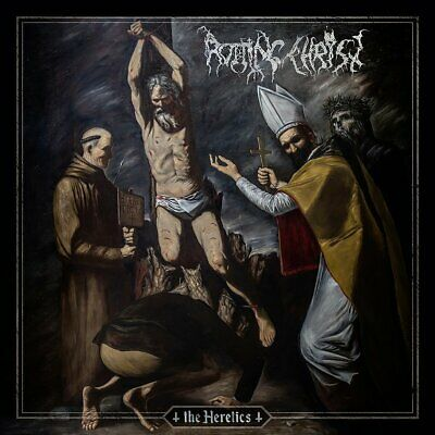 ROTTING CHRIST - THE HERETICS Official Braz version w Slipcase + Poster SEALED!