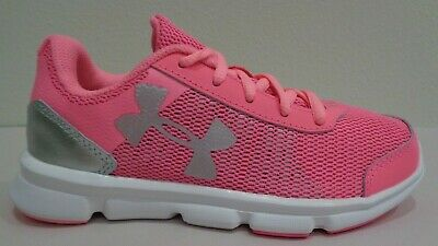 d0955a2a9bf Under Armour Size 6Y 6 SPEED SWIFT Pink Sneakers New Girls Big Kids Shoes