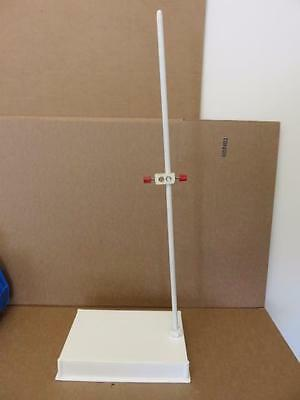 """Plastic Laboratory Support Stand with 12.5"""" x 8.5"""" Base"""