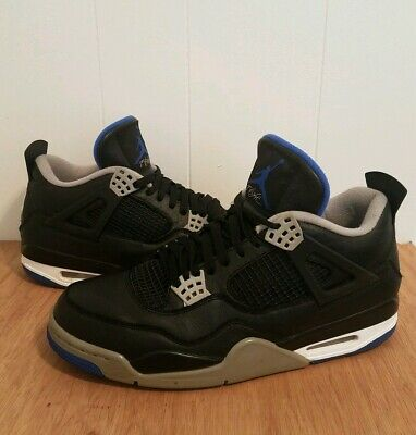 size 40 bb529 c5972 2017 NIKE AIR Jordan 4 Retro IV size 11 Motorsport Blue/Black/Grey  308497-006