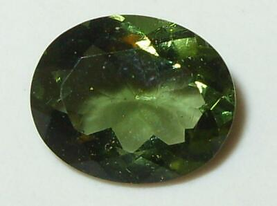 2.61ct Faceted TOP QUALITY Natural Czechoslovakia Moldavite Oval Cut 11x9mm