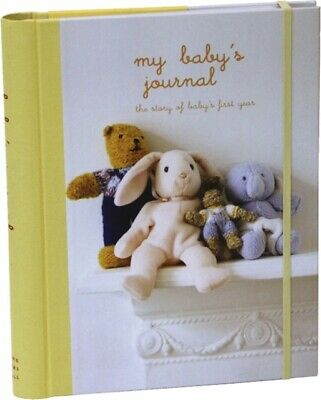 My Baby's Journal (Yellow): The story of baby's first year (Journ...
