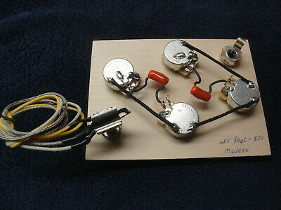MADE FOR EPIPHONE & Import Les Paul Wiring Harness ... Les Paul Wiring Harness on