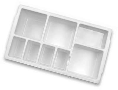 Heathrow Scientific HD2201B Droplet Replacement Inserts B for 16mm Tube Rack, Po