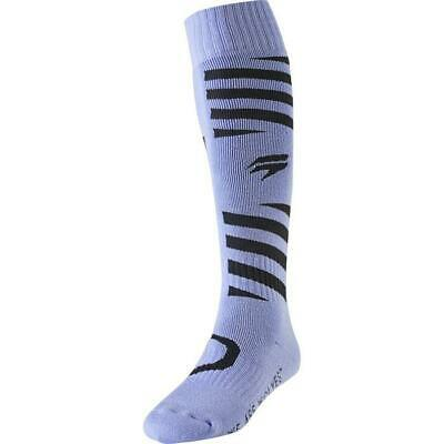 SHIFT MX Whit3 White Muse Motocross Socken 2019 purple violett Motocross Enduro