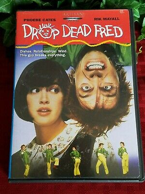 DROP DEAD FRED 90's 1991 Comedy (OOP Artisan 2003 DVD) w/chapter insert