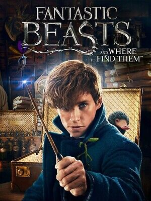 FANTASTIC BEASTS AND WHERE TO FIND THEM New Sealed DVD 1 Disc Edition
