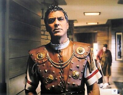 George Clooney Signed Autographed 11X14 Photo Hail, Caesar! Superstar GV837876