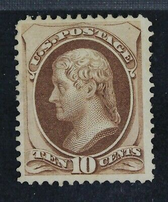 CKStamps: US Stamps Collection Scott#150 10c Jefferson Unused NG
