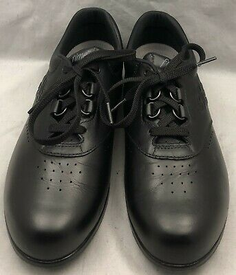 6cbda1d41 SAS WOMENS FREE Time Black 7.5M Leather Walking Comfort Oxfords Lace ...