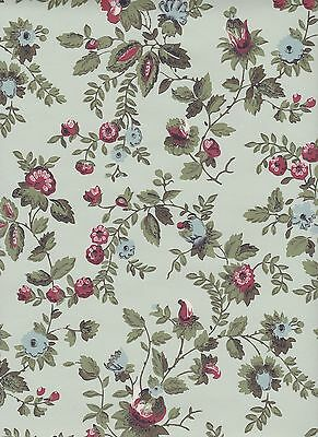 $4 SAMPLE: Thomas Strahan Historic mid 19th Century REPRODUCTION WALLPAPER #4