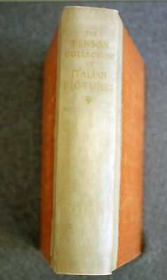 RARE 1914 CATALOGUE OF ITALIAN PICTURES Robert Evelyn Benson SIGNED Hubert Parry