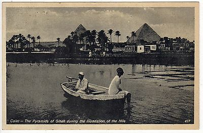 CAIRO EGYPT PC Postcard AFRICA African EGYPTIAN Middle East PYRAMIDS GIZEH Giza