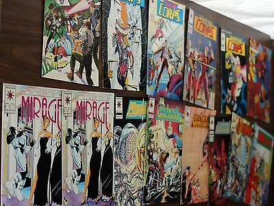 VALIANT COMICS LOT Hard Corps PSI LORDS Doctor Mirage MAGNUS Ninjak ARCHER Comic