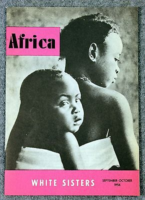 1956 AFRICA MAGAZINE White Sisters MISSIONARY OUR LADY Catholic Church METUCHEN