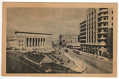 CAIRO EGYPT PC Postcard AFRICA African EGYPTIAN Fouad el Awal Street MIDDLE EAST