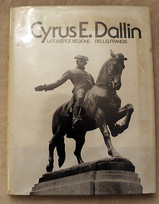 1976 CYRUS DALLIN Let Justice Be Done RELL FRANCIS Springville Utah ART Sculptor