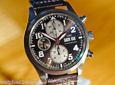 IWC St. Exupery Pilots Chronograph Sunburst Dial Limited Edition Ref. IW371709