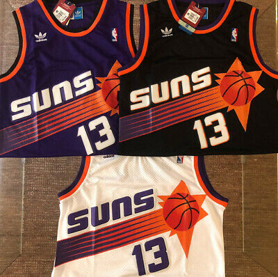 70012b2b7a0d Steve Nash  13 Phoenix Suns All Colors Throwback Swingman Basketball Mens  Jersey