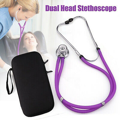 Professional Stethoscope Luxury Doctors Dual Head Boxed