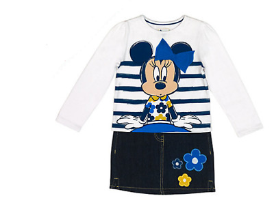 Disney Minnie Mouse Top & Skirt Set Age 2 Years rrp £24.99 DH081 RR 18