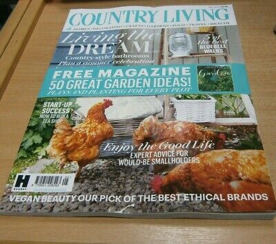 Country Living magazine MAY 2019 Advice for Would-Be Smallholders + Garden Ideas