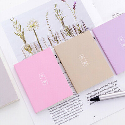 Memo Book Ruled Notebook Notepads Journal Diary School Home Office Supply CB