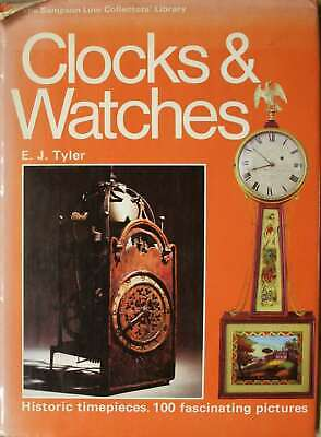 Tyler, E.J., Clocks and Watches (The Sampson Low collectors' library), Hardcover