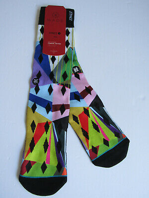 Stance D Wade Collection Dress Socks Mens Sz L/XL (9-13)NWT Mt. Geo
