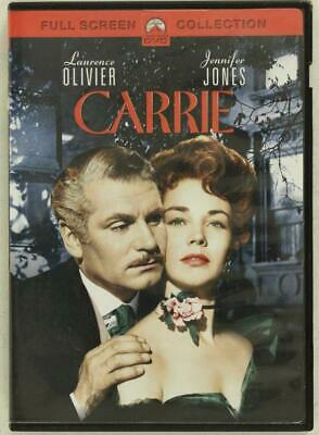 DVD Movies 1952 Romance CARRIE Laurence Olivier Jennifer Jones Not Rated