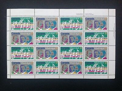 Canada Stamps #858a Pane of 16 (1980) MNH (Centenary issue)