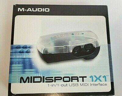 NEW DRIVER: M-AUDIO MIDISPORT 1X1 USB