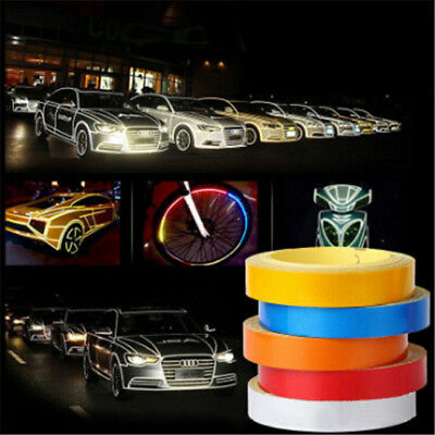 Reflective Tape Truck Baby Auto  Motorcycle Sticker Safety Warning Strip D