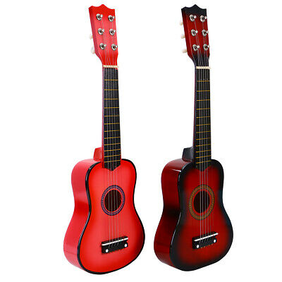 21'' 6 String Acoustic Classic Guitar Instrument For Kids Children XMAS Gift
