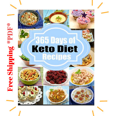 🔥Ketogenic Diet 365 Days of LowCarb Keto Diet Recipes for Rapid Weight P.D.F