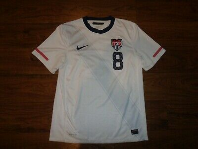 1af036b1fd2 NICE Nike Team USA Mens Soccer Clint Dempsey White Soccer Jersey Adult  Medium M