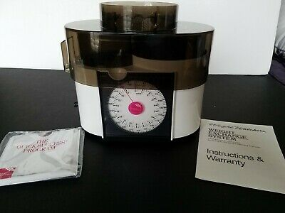 NEW 1988 Weight Watchers Weight Exchange System Scale & Quick Success Program
