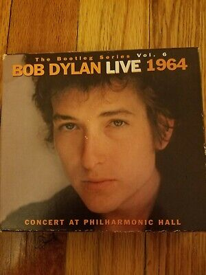 BOB DYLAN 1964 Concert Poster T-Shirt Mens Heather Charcoal - $12 99