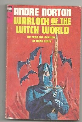 ANDRE NORTON Warlock of the Witch World. 1969. early printing. Nice copy.