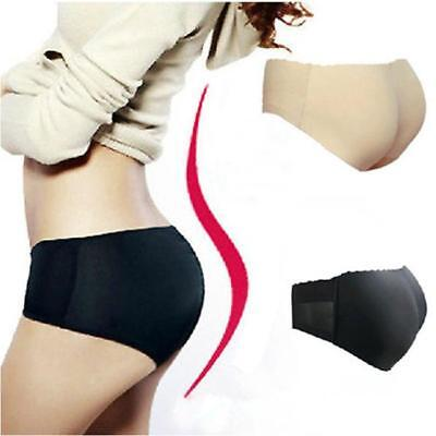 Sexy Lady Push-Up Butts Hip Enhancer Panty Padded Shaper Seamless Underwear D