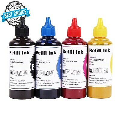 400ML SUBLIMATION REFILL Ink for Epson L800 L801 L120 L130