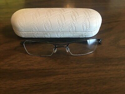 12ebef73a6 New Oakley Hollowpoint 2.0 RX Eye Glasses Polished Mercury Frames With Case