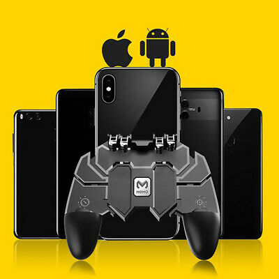 Universal Mobile Phone Wireless Joystick Gamepad Controller For PUBG Game Black