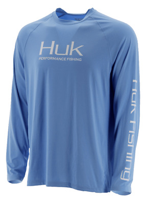 HUK Performance Fishing Pursuit Vented LS Tops, Long Sleeve - : H1200150-420-L