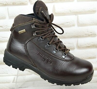 0476813a561 CRISPI HTG GTX Mens Leather Outdoor Hiking Boots Waterproof Size 8 UK 42 EU